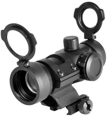 NC STAR Tactical Red/Green Dot Sight with Cantilever Weaver Mount