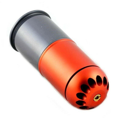 PPS/SHS Self Resetting 40mm Gas Powered Airsoft Grenade Shell, 120 Rounds