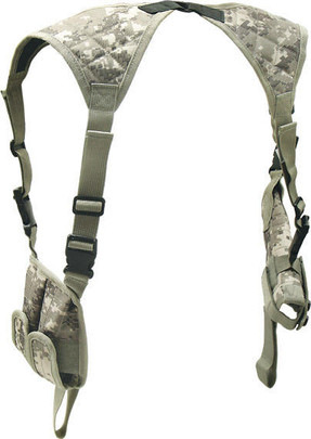 Leapers Deluxe Universal Horizontal Shoulder Holster Army Digital Camo