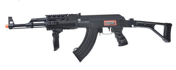AK47 Kalashnikov 60th Anniversary RIS AEG Airsoft Rifle FULL METAL - REFURBISHED
