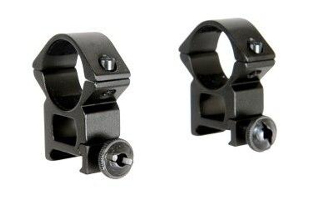 Strike Systems 1 Scope Mounting Rings, Picatinny/Weaver