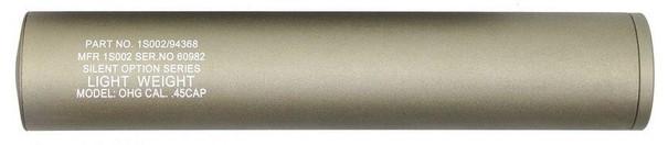 Swiss Arms 40x200mm Barrel Extension, Tan