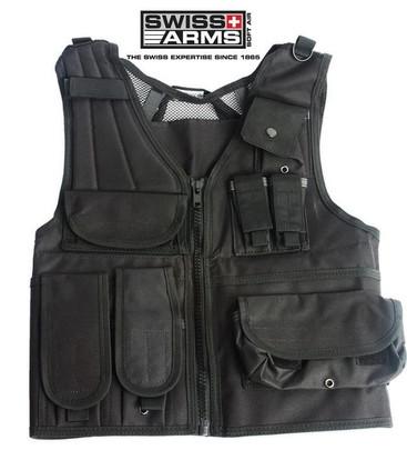 Swiss Arms Tactical Vest - Black