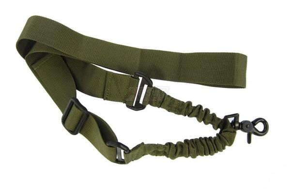Tactical One Point Bungee Sling, OD Green