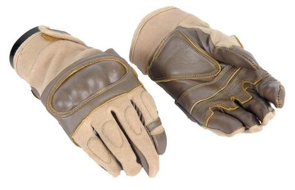 Tan Hard Knuckle Gloves
