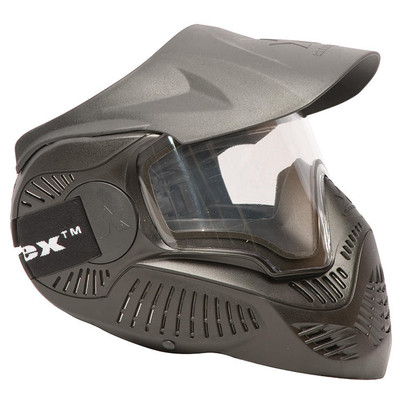 MI-7 Full Face Mask with Thermal Lens, Black