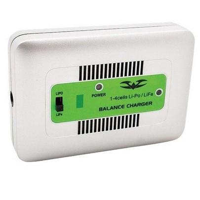 Valken Energy LiPo/LiFePO4 Balance 1A Battery Pack Smart Charger