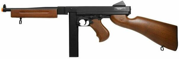 Thompson M1A1 AEG Airsoft Rifle with Stick Mag by Cybergun