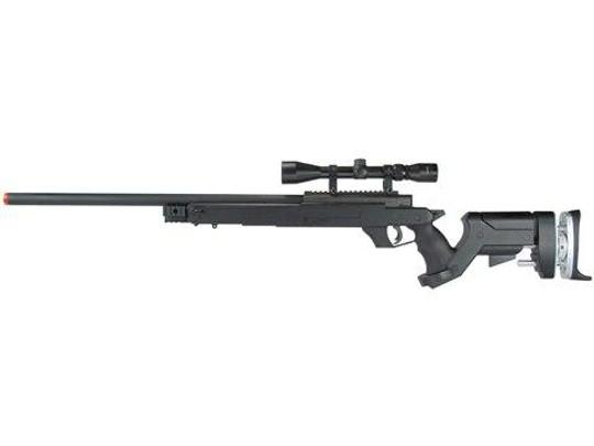TSD Tactical SD97 Bolt Action Sniper Rifle - Black