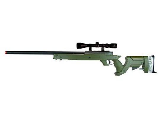 TSD Tactical SD97 Bolt Action Sniper Rifle - OD Green
