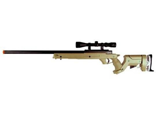 TSD Tactical SD97 Bolt Action Sniper Rifle - Tan