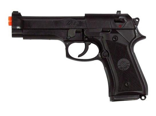 UK Arms 8946 Metal M9 Style Spring Pistol