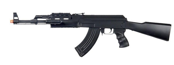 UKARMS P48 Tactical AK-47 Spring Rifle with Laser and Flashlight