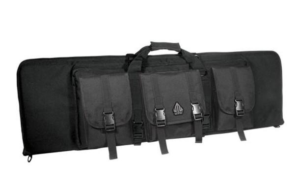 UTG Combat Web 42 Gun Case, Black
