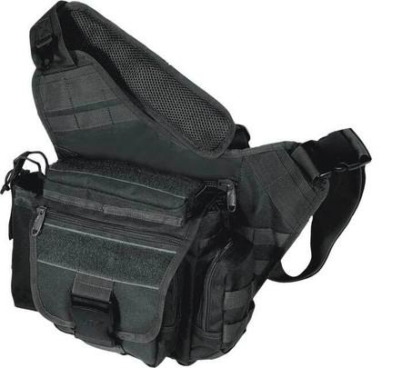 UTG Multi-Functional Tactical Messenger Bag, Black