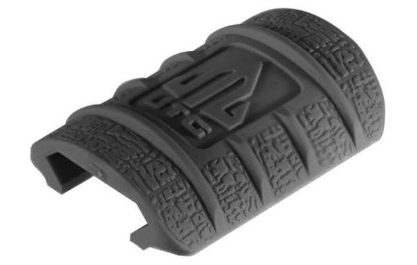 UTG Rubber Rail Covers, Black 12 pack