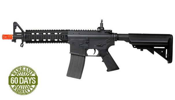 High Velocity Elite Force M4 CQB AEG Airsoft Rifle, Black