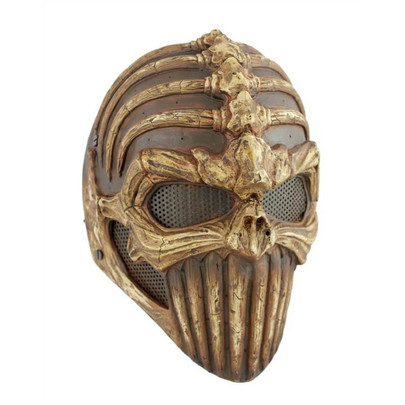 """Army of Two FMA """"Spine Tingler"""" Face Mask, Stamped Steel Mesh"""
