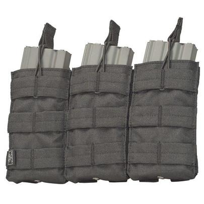 V-TAC M4/M16 Triple Magazine Pouch - Tactical Black