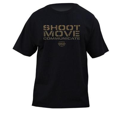 Valken Shoot Move Communicate T-Shirt - Black