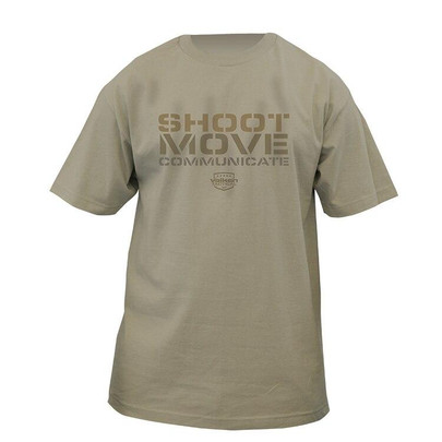 Valken Shoot Move Communicate T-Shirt - Sand