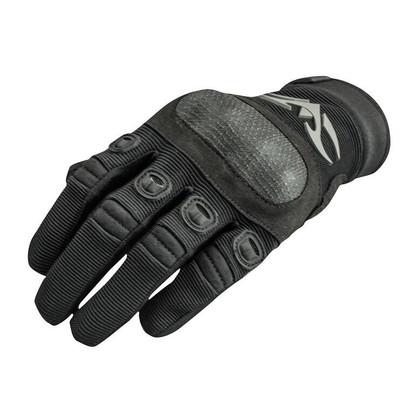 Valken Zulu Tactical Hard Knuckled Gloves, Black