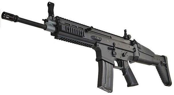 VFC FN SCAR-L MK16 Black AEG Airsoft Rifle