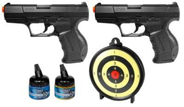 Walther P99 Duelers Kit with Target and BBs