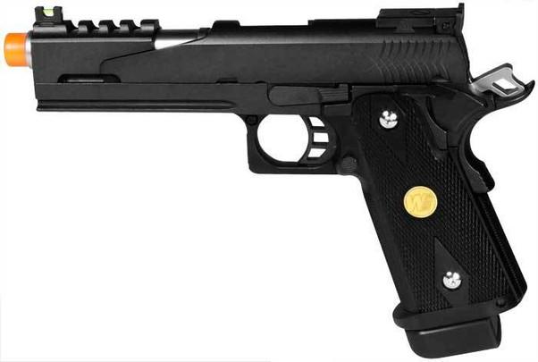 WE Hi-Capa 5.1 Dragon Type B Black Gas Blowback Pistol