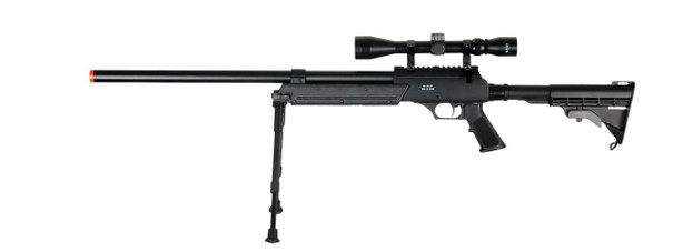 Well MB06AB Bolt Action Sniper Rifle w/ Scope and Bipod