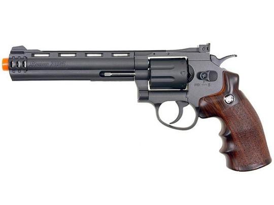 WG 8-Shot CO2 6 Airsoft Revolver, Black