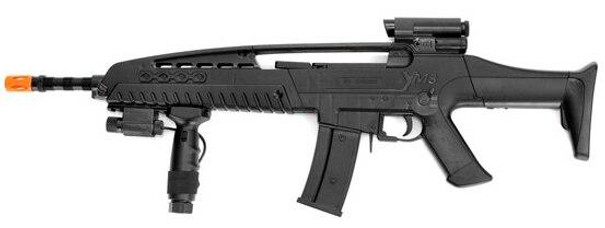 XM8 Spring Airsoft Rifle with Laser