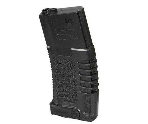 Ares Amoeba ABS Mid Cap Mag, 140 Rounds, Black, 10 Pack