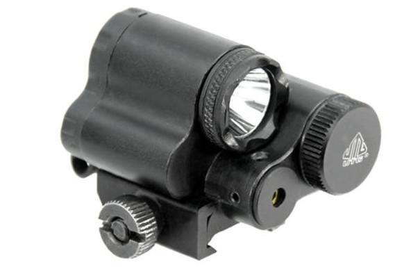 UTG Sub-Compact LED Flashlight and Laser Combo