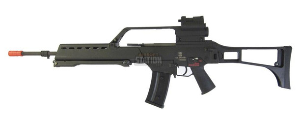 HandK G36 Full Length AEG w/ Built in MOSFET, Red Dot, and Scope