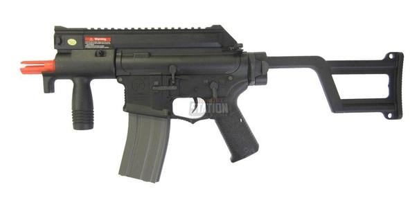 Ares Amoeba CCC M4 AEG Machine Pistol, Black