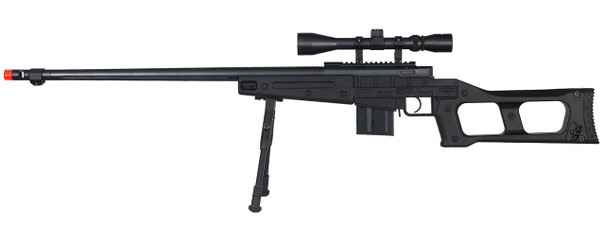 Well MB4409 Tactical Sniper Rifle w/ Scope and Bipod