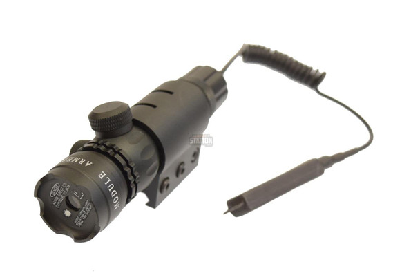 5 mW Red Laser Sight w/ Pressure Switch and Mounts