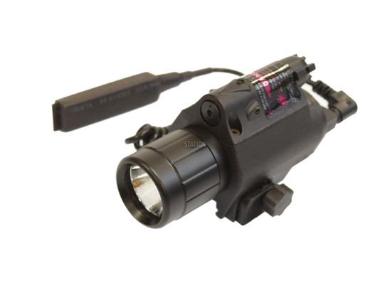 5mW Laser and 200 Lumen Flashlight and Laser Combo