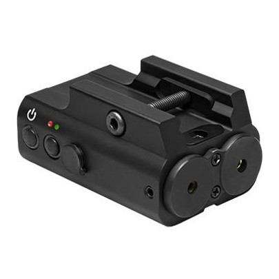 NC Star Red and Green Laser Box w/ Picatinny Mount and Pressure Switch