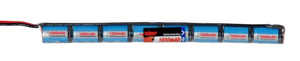 Tenergy 9.6V 1600 mAh NiMh Stick Type Battery for AEGs