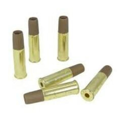 Brass Shells for WG, Dan Wesson, and Game Face Revolvers, 6 Pack