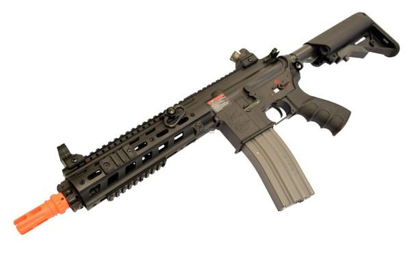 GandG GC1-46 CQB Full Metal Blowback Modular Airsoft Rifle, Black