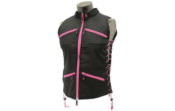 True Huntress Series Black and Pink Sporting Vest