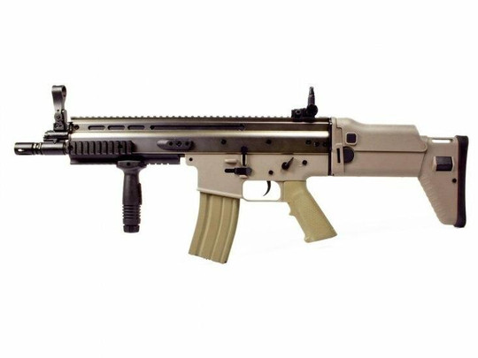 Echo1 ASC Advanced Squad Carbine Light Full Metal Tan Airsoft Rifle