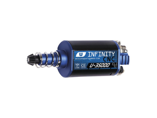 ASG Infinity Ultimate Series CNC Machined 35,000 RPM Motor, Long