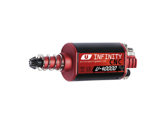 ASG Infinity Ultimate Series CNC Machined 40,000 RPM Motor, Long