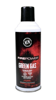 Firepower Airsoft Green Gas, 8oz Can - GROUND SHIPPING ONLY