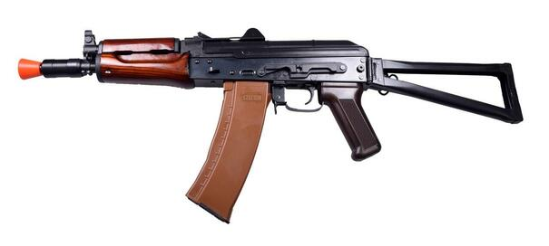EandL AK74U Full Metal Steel A104 Airsoft Rifle