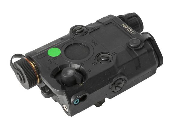 Bravo P15 Flashlight and Green Laser PEQ Box, Black